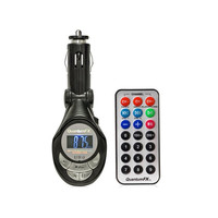Quantum FX FMT-1 Wireless FM Transmitter W/Remote & USB SD/MMC Aux Inputs