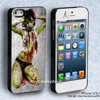Zombie Pinup Girl iPhone 5 or 5S Case