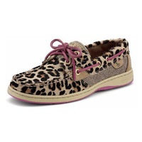 SPERRY BLUEFISH - LEOPARD PONY