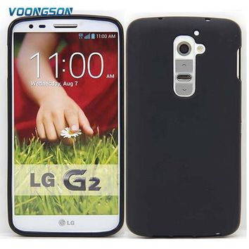 VOONGSON TPU Silicone Gel Case For LG G2 D801 F320 F340 LS980 D802 High Quality Skidproof matte soft Cell Phone Protective Cover