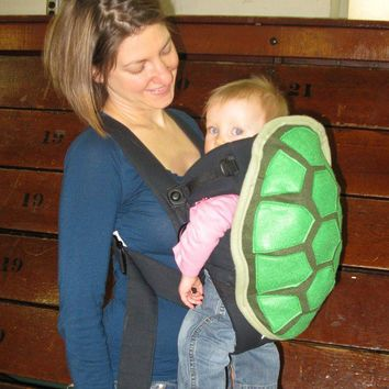 $49.00 Turtle Shell Baby Carrier Bjorn Cover by NaturallyCraftyShop
