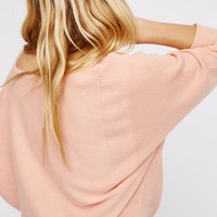 Free People Too Little Too Late Cashmere Dolman
