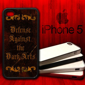 Harry Potter Defense Against The Dark Arts - iPhone 5 Rubber Protective Case