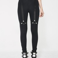 Night Trance Strap Leggings