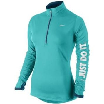 Nike Dri-FIT Element 1/2 Zip Top - Women's at Lady Foot Locker