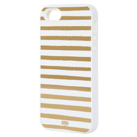 Rifle Paper Co. - Gold Stripes iPhone 5 + 5s Case - INLAY