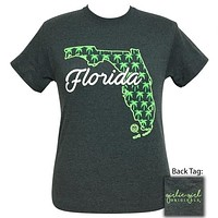 Girlie Girl Originals Florida Palm Tree Preppy State T-Shirt