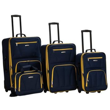 Rockland Journey 4-Piece Luggage Set - Walmart.com