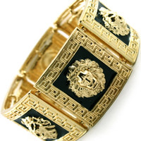 ROIAL Lion Cuff Gold : Karmaloop.com - Global Concrete Culture
