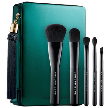 Sephora: Marc Jacobs Beauty : Your Place Or Mine? Five-Piece Travel Brush Collection : brush-sets-makeup-brushes-applicators-makeup