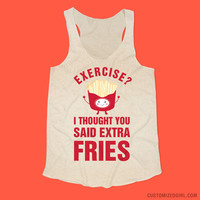 Exercise For Extra Fries Workout