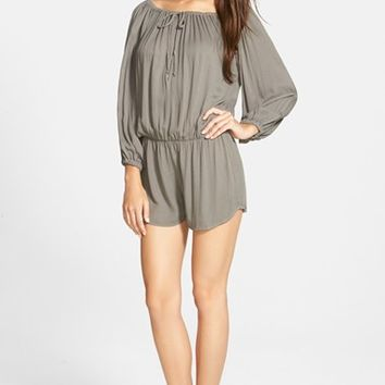 Women's Young, Fabulous & Broke 'Bess' Off the Shoulder Romper,