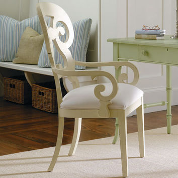 PoshLiving - Coastal Living Wayfarer Arm Chair in Choice of Color - Product Images