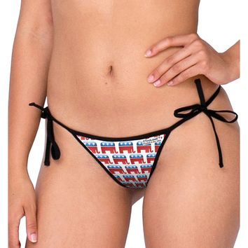 Republican Symbol All Over Swimsuit Bikini Bottom All Over Print