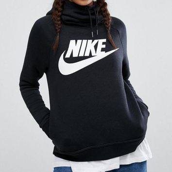 """NIKE"" Women Fashion Hooded Sweater Pullover Hoodie"