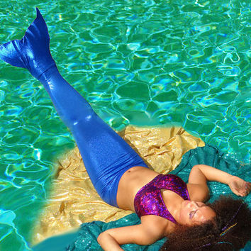 Mermaid Tails with Monofin by TAILZmermaidGear on Etsy