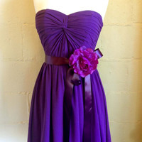hot party dress, prom dress, formal dress, bridesmaid dress, flirty dress, sexy dress, purple dress, Hollywood dress, celebrity dress,