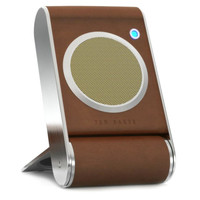 Folding portable speaker - Tan | Gifts for him | Ted Baker ROW