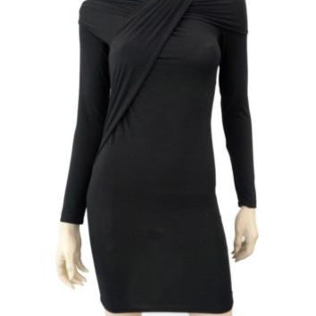 DONNA KARAN Modern Icon Jersey Dress w/ Tags, Petite