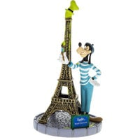 Disney Parks Epcot France Paris Goofy With Eiffel Tower Figurine New With Tags
