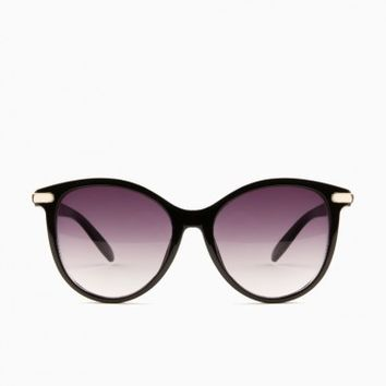 BOOKER SUNGLASSES IN BLACK