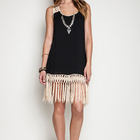 Fringe Summer Dress