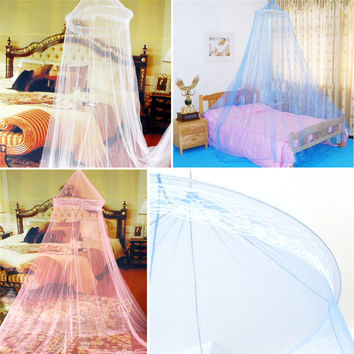 Summer  insects round lace bed canopy Dome Mosquito Net Curtain network Worldwide Moustiquaire Home Textile