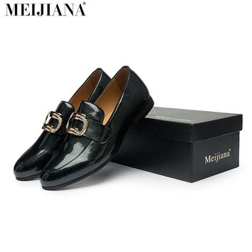 men loafers MeiJiaNa brand handsome comfortable Top quality men casual shoes