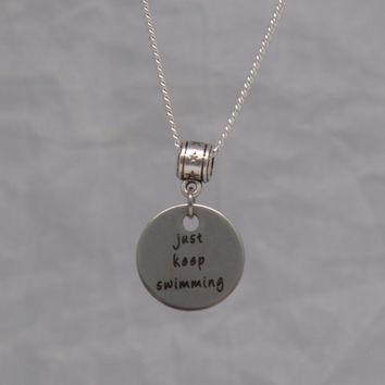Just Keep Swimming Necklace
