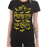 Of Mice Men Monster Girls T-Shirt