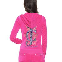 Logo Jc Jewels Velour Original Jacket by Juicy Couture
