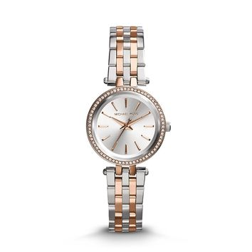 Michael Kors Women's Darci Two-Tone Petite Watch