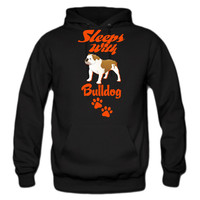 SLEEPS WITH BULLDOG HOODIE
