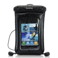 DandyCase Waterproof Case with Underwater Earphones for Apple iPhone 4, 4S - Also Works with iPod Touch 2, 3, 4, iPhone 3G, 3GS, & Other Smartphones - IPX8 Certified to 65 Feet [Retail Packaging by DandyCase]: Cell Phones & Accessories