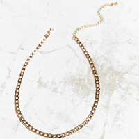Curb Chain Choker Necklace | Urban Outfitters