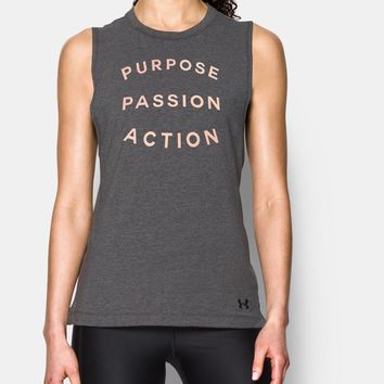 Women's UA Purpose Passion Muscle T | Under Armour US