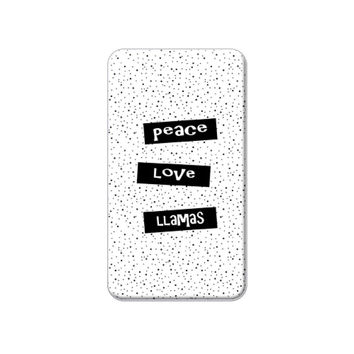 Peace Love Llamas Lapel Hat Pin Tie Tack