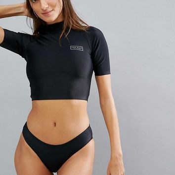 Jack Wills High Neck Bikini at asos.com