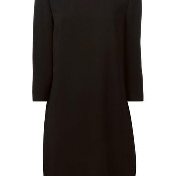 ONETOW Burberry London chain trim dress