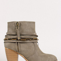 From London To Paris Statement Booties