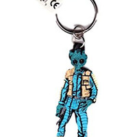 Vintage Star Wars 1997 Greedo Rubber Keychain by Applause