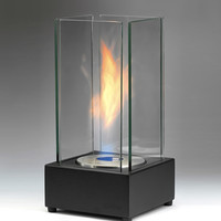 "Product: 13.78""H x 7.1"" x 7.1"" - Cartier Ethanol Fireplace -"