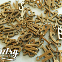 Alphabet Charms Make a Personalized Charm Necklace Unique, Make a Name Necklace or a Personalized Mother Necklace