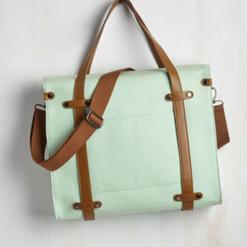 Travel Camp Director Tote in Mint by ModCloth