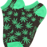 accessories boutique socks high life green