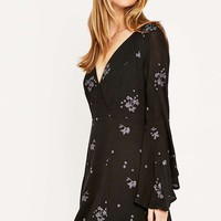 Free People Jasmine Embroidered Mini Dress - Urban Outfitters