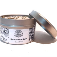 Calming Bath 6 oz for Hoodoo, Voodoo, Wicca & Pagan Rituals