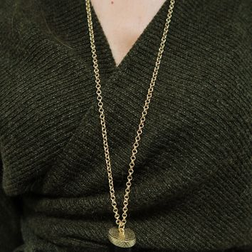 Restock: Hooked On Me Necklace: Gold/Multi