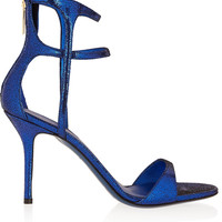 Tamara Mellon - Glow metallic suede sandals