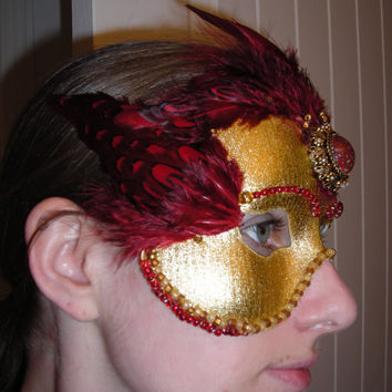 Imperial Masquerade Mask by UlZaorith on Etsy